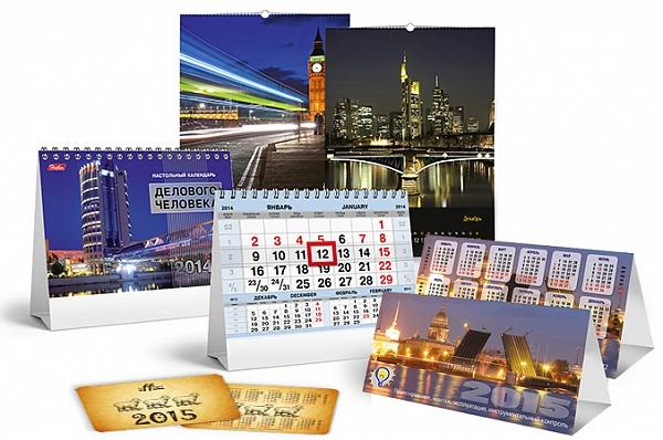 Печать календарей в Ростове-на-Дону. Печать блокнотов
