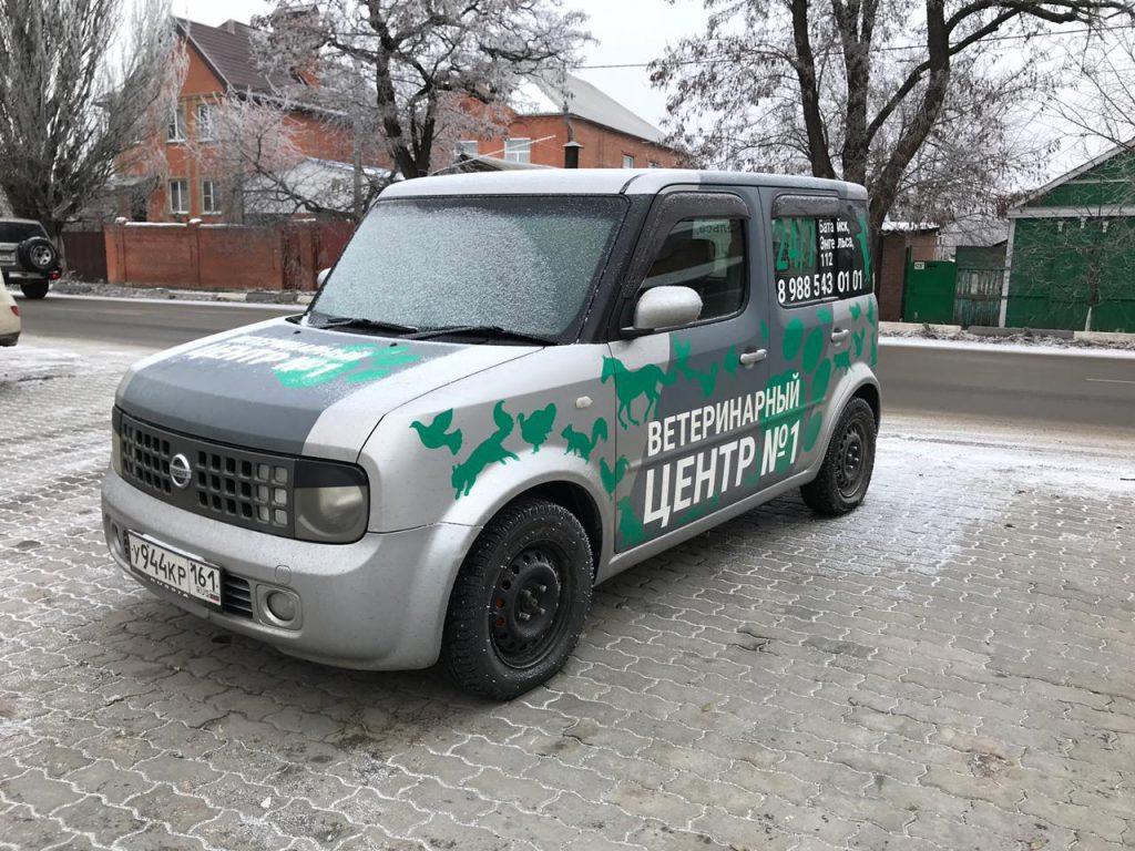 Виниловые наклейки на авто в Ростове-на-Дону